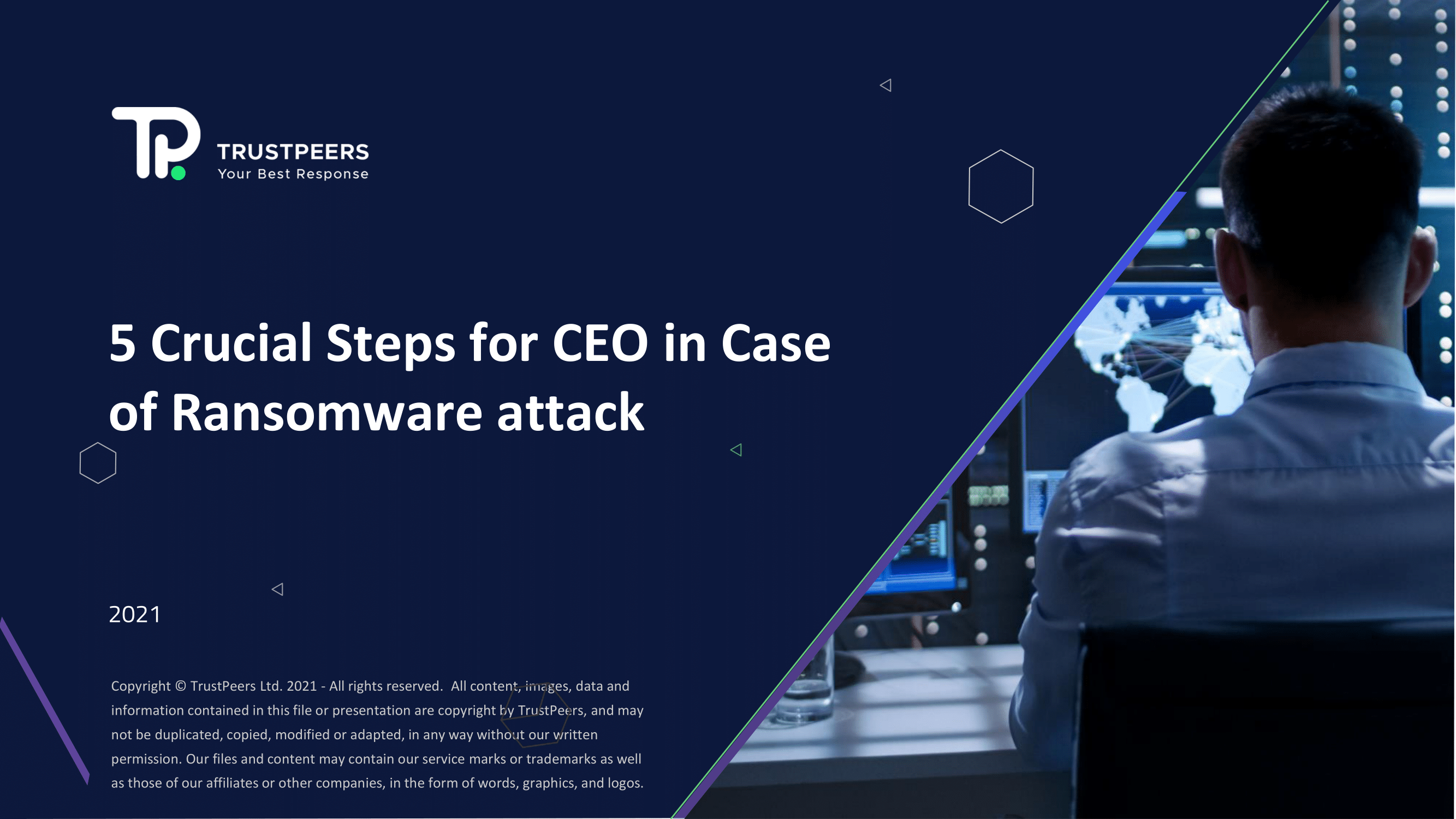CEO Using 5 Steps Image